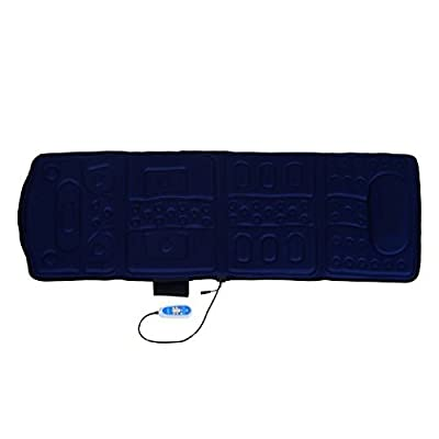 Soozier 10-Motor Heated Vibration Massage Plush Mat