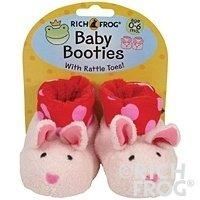 Bunny Baby Booties 0-6m