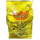 Reeses Peanut Butter Cup Eggs Easter Candy 88 Oz (44 Ounce Bag Pack of 2)