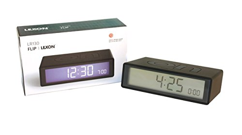 lexon flip alarm clock instructions