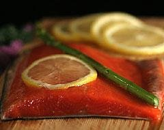 25 Pounds Fresh Sockeye Salmon Fillets