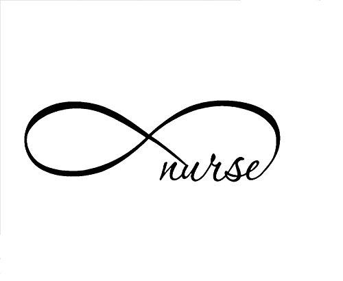 White-Infinity-Nurse-CarlaptopTruckWall-Decal