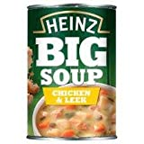 Heinz Big Soup Chicken And Leek 400G