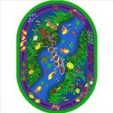 "Joy Carpets Kid Essentials Early Childhood Oval You Can Find Rug, Multicolored, 7'8"" x 10'9"""