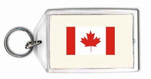 Keychain with the image of: Canada