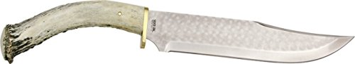 Silver Stag Big Bowie Fixed Knife