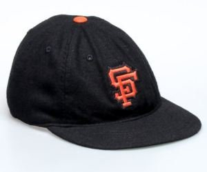 San Francisco Giants American Needle Statesman Cap Washed Flannel Vintage Leather... by American Needle