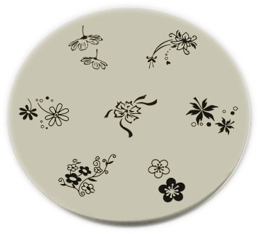 Konad Stamping Nail Art Image Plate - M31