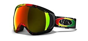 Oakley Canopy Tanner Hall Snow Goggles (Black Frame/Fire Iridium Lens)