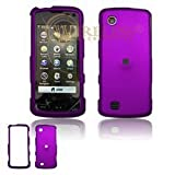 Premium Rubberized Purple Snap-On Cover Hard Case Cell Phone Protector for  ....