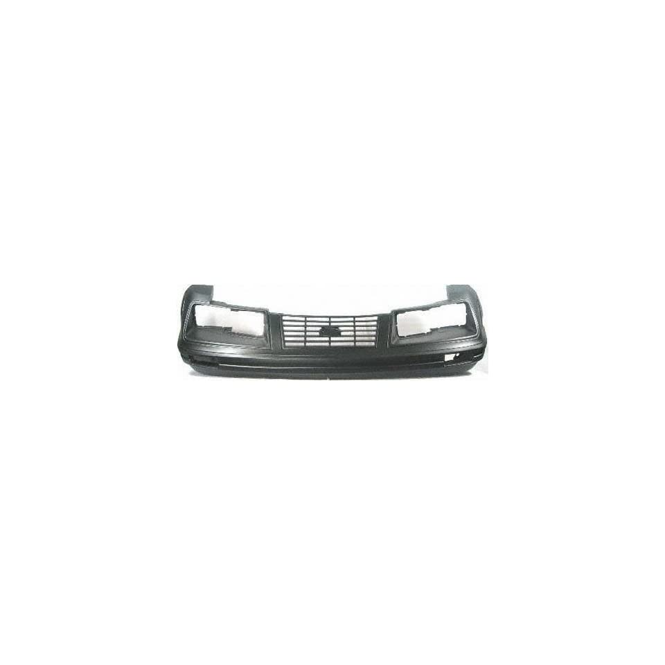 83 84 FORD MUSTANG FRONT BUMPER COVER, Raw, Except GT Model