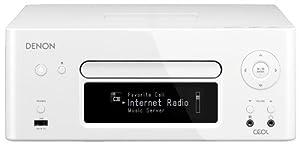 DENON RCD-N8W CEOL ネットワークCDレシーバー AirPlay/ハイレゾ音源対応 ホワイト