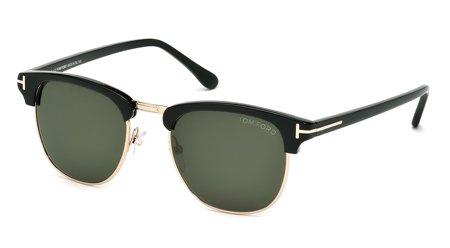 tom-ford-sunglasses-henry-frame-shiny-black-with-rose-gold-lens-grey-gradient