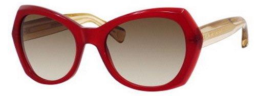 Marc Jacobs Mj434/S Sunglasses-03P9 Burgundy (Cc Brown Gradient Lens)-56Mm