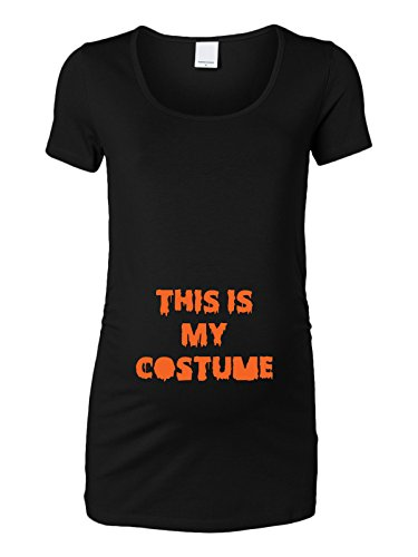 Trunk Candy Womens This Is My Costume Halloween Maternity Top