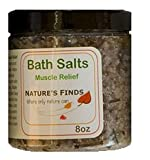 High Quality Natural and Organic Muscle Relief Bath Salts for Muscle Strains and Aches