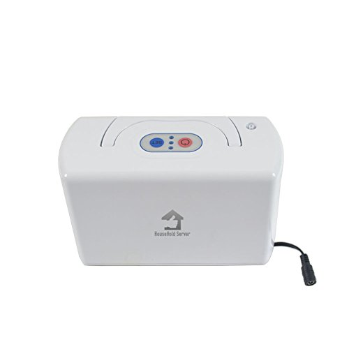 HouseHold Server (TM)Portable Oxygen Bar Machine with Battery for travelling and car use