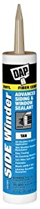 Dap 00810 Tan Side Winder Advance Polymer Siding and Window Sealant 10.1-Ounce