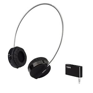 Rapoo Kopfhörer 3,5 mm Klinke Rapoo H3070 Wireless Headphones für PC Tablet MP3 Ebook ipad ipad 2 Xoom P1000