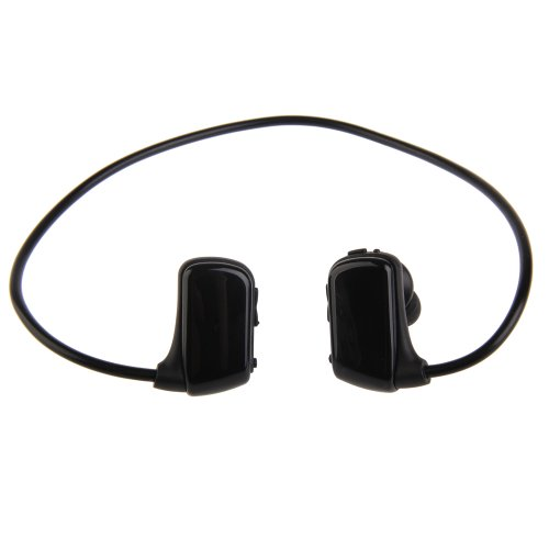 Vktech 2G-W273 Portable Wireless In Ear Sports Headset Mp3 Music Player (Black)