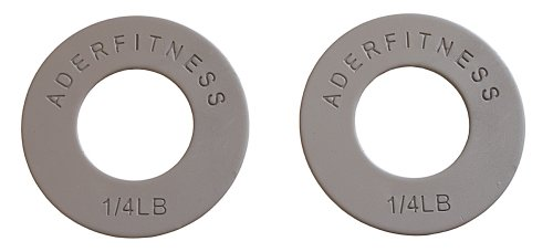 Ader-Olympic-Fractional-Plates-Pair-14-Lb-Grey