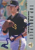 Mark Johnson Carolina Mudcats - Pirates Affiliate 1995 Upper Deck Autographed Hand... by Hall of Fame Memorabilia