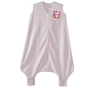 HALO Early Walker SleepSack Micro Fleece Wearable Blanket, Pink, Medium