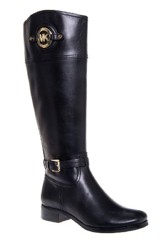 Stockard Tall Low Heel Buckled Riding Boot