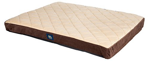 serta-orthopedic-quilted-pillowtop-dog-bed-x-large-brown-by-serta