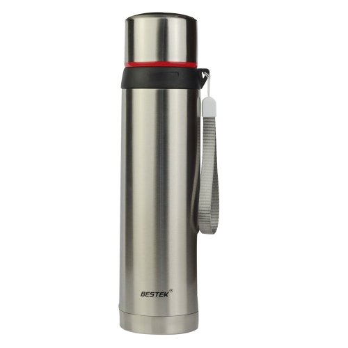 Bestek® 16Oz Double Wall Stainless Steel Mug Thermal Insulated Vacuum Tumbler For Water,Coffee,Tea,Milk Ect. Keep Hot & Cold, Leak-Proof Btvt300