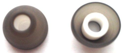 2Pcs New Large Earbuds For Skullcandy 50/50 , Chops Bud , Heavy Medal , Smokin Buds , Chops In-Ear Headphones Mobile Hands-Free Headset Wired Eargels Eartips Ear Buds Gels Tips Bud Gel Tip