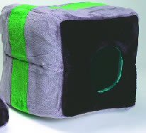 Classic Pet Products Rectangle Tunnel Cat or Dog Bed