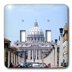 Vacation Spots - Saint Peters The Vatican - Light Switch Covers - double toggle switch