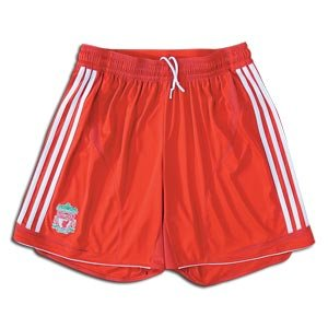 Liverpool 07/08 Home Soccer Shorts