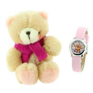 Forever Friends Gift Set Teddy Pink Strap Girls