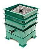 4 Tray Green Gusanito Wormswrangler Worm Farm Bin Free Garden Claw