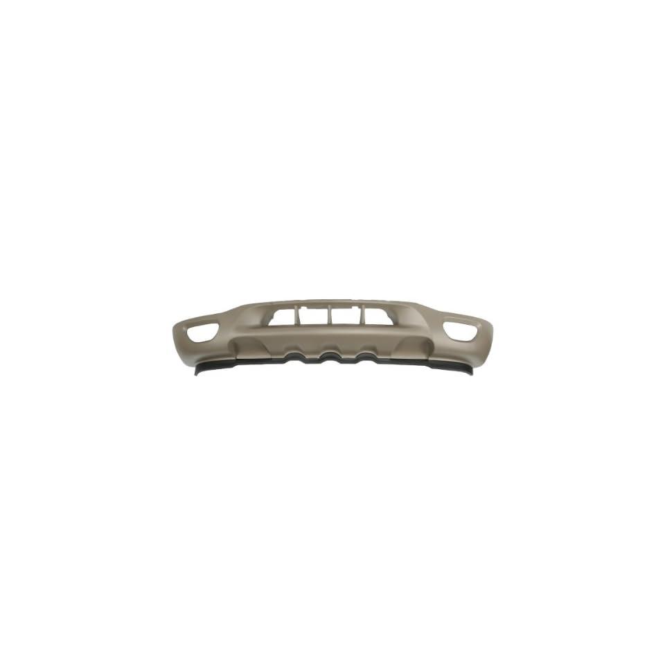 CarPartsDepot, Front Bumper Reinforcement Valance Apron Deflector Air Dam Pickup Truck, 350 18144 10 FO1095182 XL3Z17626DAA