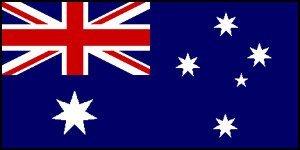 Large Fabric Australian Ozzie Flag 5x3 Foot