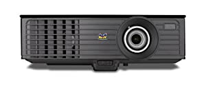 View Sonic PJD6253 XGA Front Projector, 300 Inches - Black