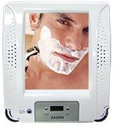 Zadro ZRA01 Fogless Shaving Shower Mirror Radio with Clock
