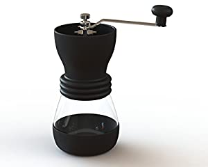 Francois et Mimi Manual Ceramic Coffee Bean Grinder (Black)