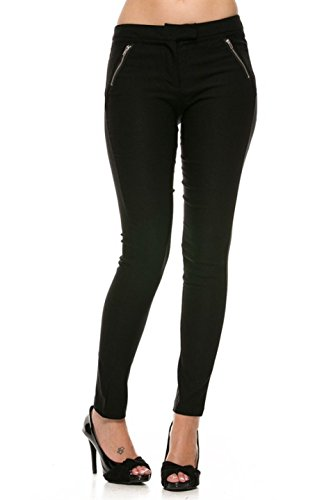 2LUV Women's Tapered Formal Yoga Uniform Dress Pants