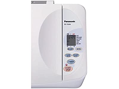 Panasonic SD-YD250 Automatic Bread Maker with Yeast Dispenser, White from Panasonic