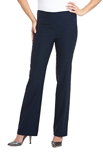 Rekucci Women's Ease In To Comfort Boot Cut Pant (12