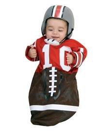 Newborn Football Bunting, Newborn Ages 0-9 months)