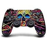 PS4 DualShock wireless Controller Pro console - Newest PlayStation4 Controller with Soft Grip & Exclusive Customized Version Skin (Ps4-Graffti Splater) (Color: Graffiti Splater)