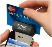 Intuit Mobile Credit Card Reader Swiper Smartphone Iphone/Android Black Matte Model New