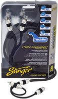 Stinger SI8212 12-Foot 2-Channel 8000 Series Audiophile Grade RCA Interconnect Cable