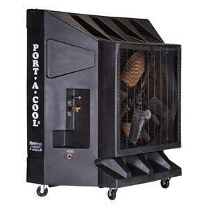 Portable Evaporative Cooler, 9600 cfm