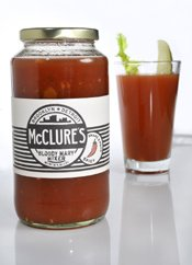 Mcclures Spicy Bloody Mary Mix 32oz from McClure's